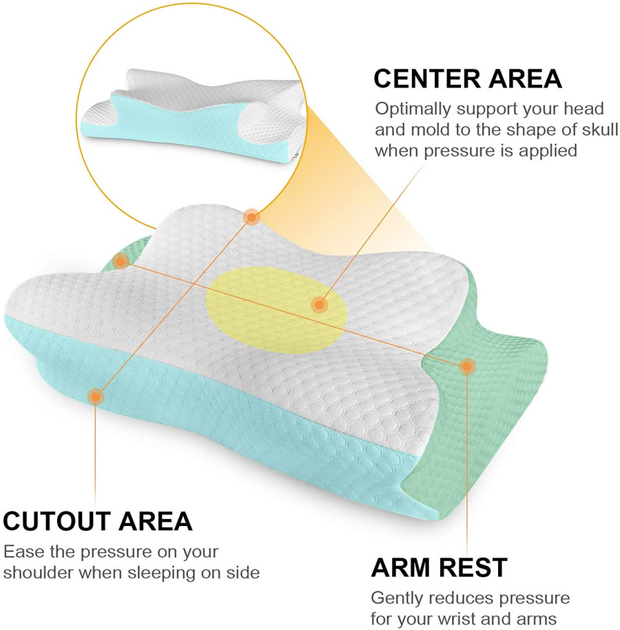 Coisum Cervical Orthopedic Contour Pillow