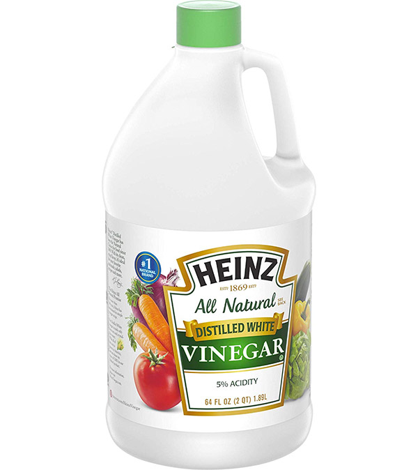 Vinegar can help remove pee stain
