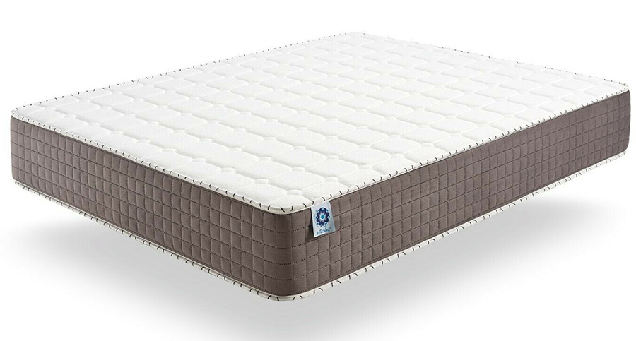 A traditional memory foam mattress