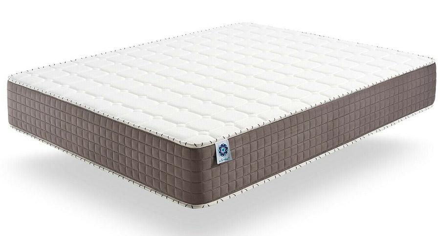 A traditional memory foam mattress