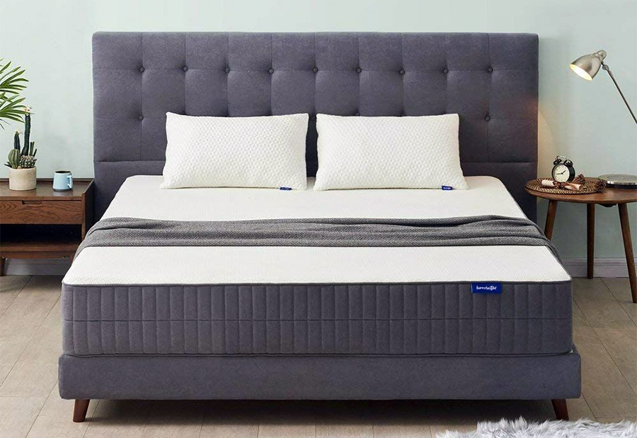 An example of a memory foam mattress