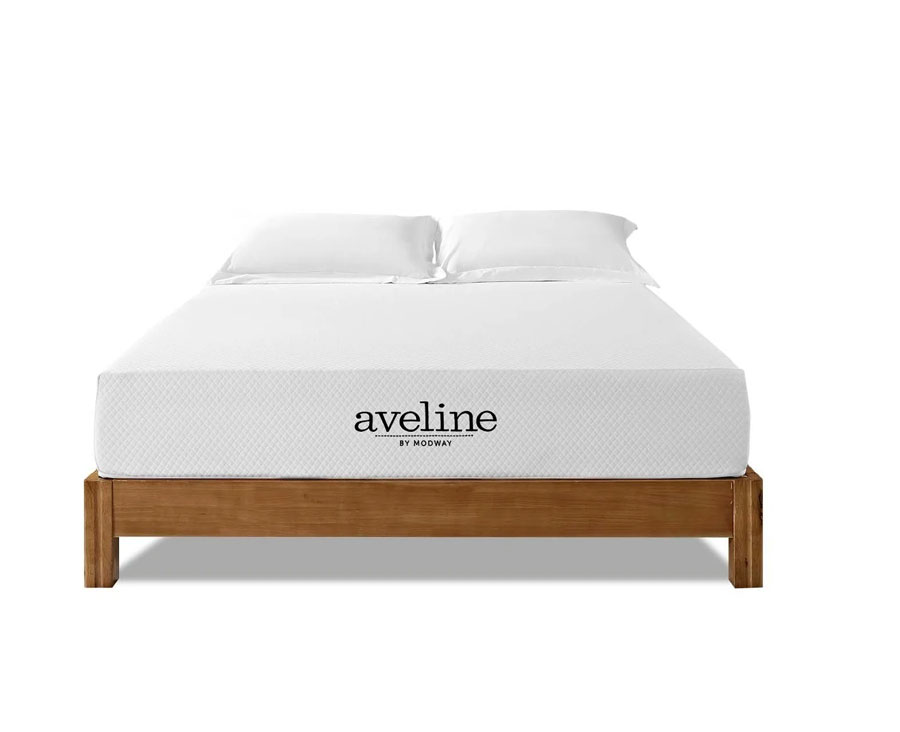Modway Aveline 10-Inch Gel-Infused Memory Foam Mattress